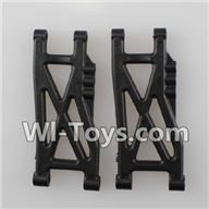 Wltoys K959 parts-Rear Lower Suspension Arm(2pcs) For WLtoys K959 1/12 1:12 RC Drift Car Parts desert Off Road Buggy parts