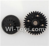 Wltoys K959 parts-Rear gear box Reducers,Speed Reduction Gear For WLtoys K959 1/12 1:12 RC Drift Car Parts desert Off Road Buggy parts