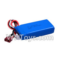 Wltoys K959 parts-Upgrade Battery,7.4v 2000mah battery with T-shape plug For WLtoys K959 1/12 1:12 RC Drift Car Parts desert Off Road Buggy parts