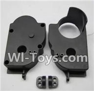 Wltoys K959 parts-Rear Gear Box For WLtoys K959 1/12 1:12 RC Drift Car Parts desert Off Road Buggy parts