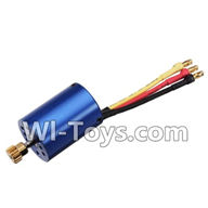 Wltoys K959 parts-Upgrade Brushless Motor 2848 For WLtoys K959 1/12 1:12 RC Drift Car Parts desert Off Road Buggy parts