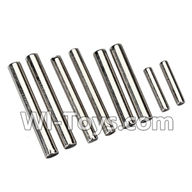 Wltoys K959 parts-Axle Pin(Total 8pcs) For WLtoys K959 1/12 1:12 RC Drift Car Parts desert Off Road Buggy parts