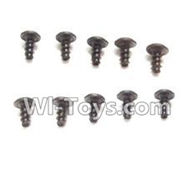 Wltoys K959 parts-Round Head Scre PWA 2.6x4mm Screw(10pcs) For WLtoys K959 1/12 1:12 RC Drift Car Parts desert Off Road Buggy parts