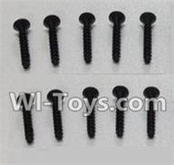 Wltoys K959 parts-Socket Head Screw Set 2.6x12mm(10pcs) For WLtoys K959 1/12 1:12 RC Drift Car Parts desert Off Road Buggy parts