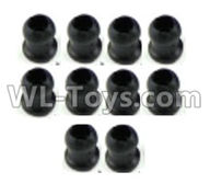 Wltoys K989 Upgrade Parts-K989-44 Plastic ball head parts(10pcs),1:28 Wltoys K989 RC Car Spare Parts Replacement accessories,1/28 Mini K989 On Road Drift Racing Truck Car Parts