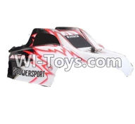 Wltoys K979 Parts-Body Shell cover,Car canopy,Car shell cover For WLtoys K979 1:28 RC Drift Car Parts desert Off Road Buggy parts