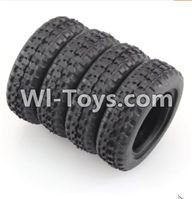 Wltoys K979 Parts-Rally tire-4pcs-(27.5X8.5mm) For WLtoys K979 1:28 RC Drift Car Parts desert Off Road Buggy parts