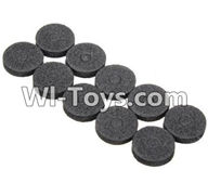 Wltoys K979 Parts-Car shell washer(10pcs) For WLtoys K979 1:28 RC Drift Car Parts desert Off Road Buggy parts