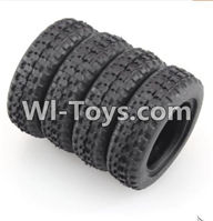 Wltoys K989 Parts-Rally tire-4pcs-(27.5X8.5mm) For WLtoys K989 1:28 rc Drift Car Parts desert Off Road Buggy parts