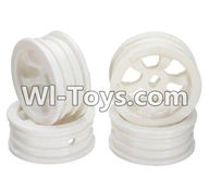 Wltoys K989 Parts-Wheel hub(4pcs) For WLtoys K989 1:28 rc Drift Car Parts desert Off Road Buggy parts