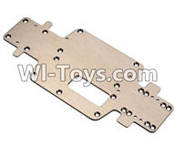 Wltoys K989 Parts-Metal Bottom frame For WLtoys K989 1:28 rc Drift Car Parts desert Off Road Buggy parts