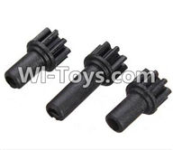 Wltoys K989 Parts-Gear parts(3pcs) For WLtoys K989 1:28 rc Drift Car Parts desert Off Road Buggy parts