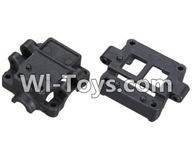 Wltoys K989 Parts-Upper and Bottom Gearbox parts For WLtoys K989 1:28 rc Drift Car Parts desert Off Road Buggy parts