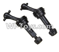 Wltoys K989 Parts-Metal drive shaft Dog Bone(2pcs) For WLtoys K989 1:28 rc Drift Car Parts desert Off Road Buggy parts