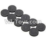 Wltoys K989 Parts-Car shell washer(10pcs) For WLtoys K989 1:28 rc Drift Car Parts desert Off Road Buggy parts