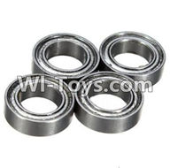 Wltoys K989 Parts-Bearing(6X10X3mm)-4pcs For WLtoys K989 1:28 rc Drift Car Parts desert Off Road Buggy parts