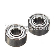 Wltoys K989 Parts-Bearing(2X5X2.5mm)-2pcs For WLtoys K989 1:28 rc Drift Car Parts desert Off Road Buggy parts