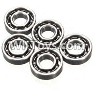 Wltoys K989 Parts-Bearing(3X7X2mm)-5pcs For WLtoys K989 1:28 rc Drift Car Parts desert Off Road Buggy parts