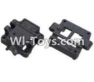Wltoys K999 Parts-Upper and Bottom Gearbox parts For WLtoys K999 1:28 rc Drift Car Parts desert Off Road Buggy parts