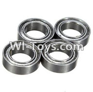 Wltoys K999 Parts-Bearing(6X10X3mm)-4pcs For WLtoys K999 1:28 rc Drift Car Parts desert Off Road Buggy parts