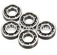 Wltoys K999 Parts-Bearing(3X7X2mm)-5pcs For WLtoys K999 1:28 rc Drift Car Parts desert Off Road Buggy parts