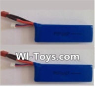Wltoys L303 Parts-Lipo Batterie,7.4v 2500mah 25c Battery(2pcs),Wltoys L303 RC Car Spare Parts Replacement Accessories,1:10 Scale 4wd,2.4G L303 rc racing car Parts,On Road Drift Racing Truck Car Parts