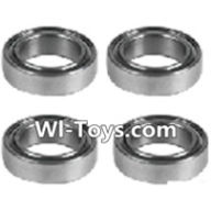 Wltoys L303 Parts-K939-52 Roller bearings(4pcs)-10X15X4mm,Wltoys L303 RC Car Spare Parts Replacement Accessories,1:10 Scale 4wd,2.4G L303 rc racing car Parts,On Road Drift Racing Truck Car Parts