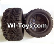 Wltoys L313 Parts-Front wheel(2pcs),Wltoys L313 RC Car Spare Parts Replacement Accessories,1:10 Scale 4wd,2.4G L313 rc racing car Parts,On Road Drift Racing Truck Car Parts