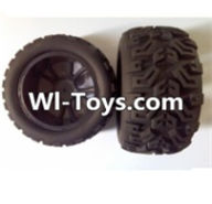 Wltoys L313 Parts-Rear wheel(2pcs),Wltoys L313 RC Car Spare Parts Replacement Accessories,1:10 Scale 4wd,2.4G L313 rc racing car Parts,On Road Drift Racing Truck Car Parts
