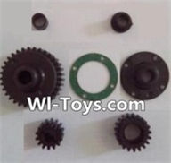 Wltoys L313 Parts-Transmission gear(Total 7pcs),Wltoys L313 RC Car Spare Parts Replacement Accessories,1:10 Scale 4wd,2.4G L313 rc racing car Parts,On Road Drift Racing Truck Car Parts