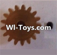 Wltoys L313 Parts-17T Motor Gear(17 Teeth)-hole diameter 3.17mm,M-0.8,Wltoys L313 RC Car Spare Parts Replacement Accessories,1:10 Scale 4wd,2.4G L313 rc racing car Parts,On Road Drift Racing Truck Car Parts