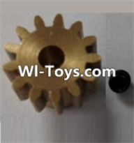 Wltoys L313 Parts-P949-27 13T Motor Gear(13 Teeth)-hole diameter 3.17mm,M-0.8,Wltoys L313 RC Car Spare Parts Replacement Accessories,1:10 Scale 4wd,2.4G L313 rc racing car Parts,On Road Drift Racing Truck Car Parts