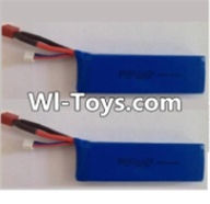 Wltoys L313 Parts-Lipo Battery,7.4v 2500mah 25c Battery(2pcs),Wltoys L313 RC Car Spare Parts Replacement Accessories,1:10 Scale 4wd,2.4G L313 rc racing car Parts,On Road Drift Racing Truck Car Parts