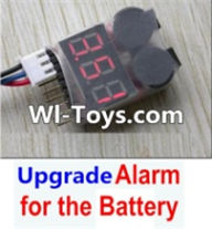 Wltoys L313 Parts-Upgrade Alarm for the Battery,Can test whether your battery has enouth power,Wltoys L313 RC Car Spare Parts Replacement Accessories,1:10 Scale 4wd,2.4G L313 rc racing car Parts,On Road Drift Racing Truck Car Parts
