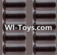 Wltoys L313 Parts-A929-74 pan head Hexagon head screws(10pcs)-M3x12TMHO,Wltoys L313 RC Car Spare Parts Replacement Accessories,1:10 Scale 4wd,2.4G L313 rc racing car Parts,On Road Drift Racing Truck Car Parts