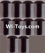 Wltoys L313 Parts-A929-81 pan head Hexagon head screws(10pcs)-M3x8TMHO,Wltoys L313 RC Car Spare Parts Replacement Accessories,1:10 Scale 4wd,2.4G L313 rc racing car Parts,On Road Drift Racing Truck Car Parts