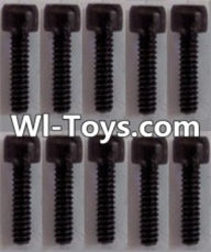 Wltoys L313 Parts-K939-63 Cup head Hexagon machine screws(10pcs)-M3x8,Wltoys L313 RC Car Spare Parts Replacement Accessories,1:10 Scale 4wd,2.4G L313 rc racing car Parts,On Road Drift Racing Truck Car Parts