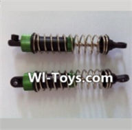Wltoys L323 Front Shock Absorber(2pcs),Wltoys L323 RC Car Spare Parts Replacement Accessories,Wltoys 1/10 Parts