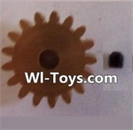 Wltoys L323 17T Motor Gear(17 Teeth)-hole diameter 3.17mm,M-0.8,Wltoys L323 RC Car Spare Parts Replacement Accessories,Wltoys 1/10 Parts