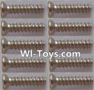 Wltoys L323 Countersunk self tapping screws(10pcs)-1.7x8KB,Wltoys L323 RC Car Spare Parts Replacement Accessories,Wltoys 1/10 Parts