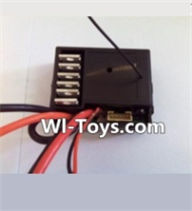 Wltoys L323 Receiver board-2.4G Circuit board,Wltoys L323 RC Car Spare Parts Replacement Accessories,Wltoys 1/10 Parts