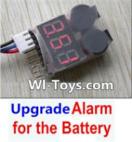 Wltoys L323 Upgrade Alarm for the Battery,Can test whether your battery has enouth power,Wltoys L323 RC Car Spare Parts Replacement Accessories,Wltoys 1/10 Parts