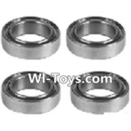 Wltoys L323 K939-52 Roller bearings(4pcs)-10X15X4mm,Wltoys L323 RC Car Spare Parts Replacement Accessories,Wltoys 1/10 Parts