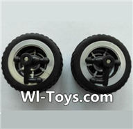 Wltoys L353 Parts-Front wheel unit(2pcs),Wltoys L353 1/24 Rc Car Spare Parts Replacement Accessories