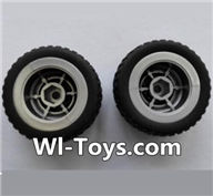Wltoys L353 Parts-Rear wheel unit(2pcs),Wltoys L353 1/24 Rc Car Spare Parts Replacement Accessories