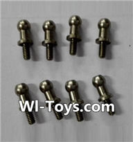 Wltoys L353 Parts-inner hexagon Ball head Screws(8pcs)-3.5×M2.0×10.5,Wltoys L353 1/24 Rc Car Spare Parts Replacement Accessories