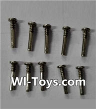 Wltoys L353 Parts-Round head self-tapping screws(10pcs)-M1.6×10,Wltoys L353 1/24 Rc Car Spare Parts Replacement Accessories