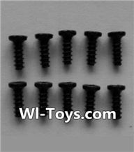 Wltoys L353 Parts-Round head self-tapping screws(10pcs)-M2X6,Wltoys L353 1/24 Rc Car Spare Parts Replacement Accessories