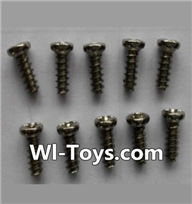 Wltoys L353 Parts-Round head self-tapping screws(10pcs)-M3X8,Wltoys L353 1/24 Rc Car Spare Parts Replacement Accessories