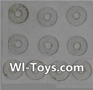 Wltoys L353 Parts-PVC gaskets(10pcs)-5.0X1.8X0.3,Wltoys L353 1/24 Rc Car Spare Parts Replacement Accessories